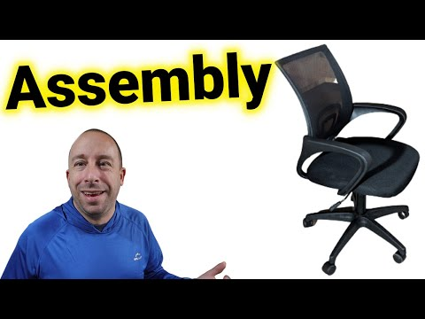 FDW (Amazon) Office Chair Assembly Highlights
