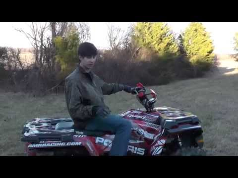 Big Gun Exhaust   Polaris Sportsman 570