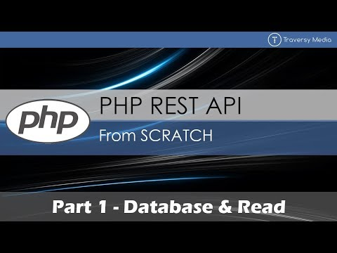 PHP REST API From Scratch [1] - Database & Read