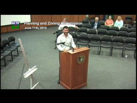 Plannng & Zoning Commission, June 11, 2019