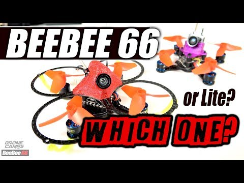 1S POWER! - BeeBee 66 & BeeBee 66 Lite, 1S Brushless Quads - FULL REVIEW