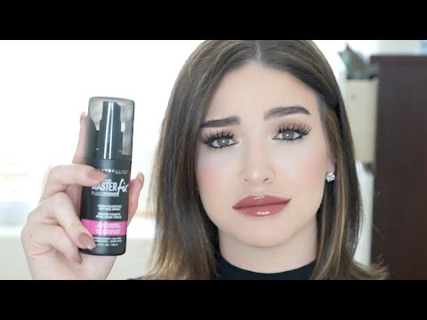 NEW! Maybelline Master Fix Makeup Setting Spray | Review - UCcZ2nCUn7vSlMfY5PoH982Q