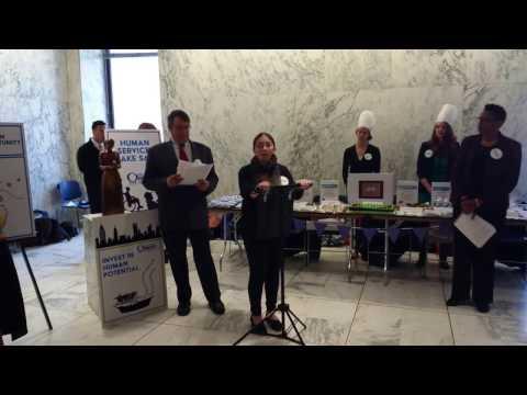 Human Services Bake Sale 3/22/17 - Volunteers of America