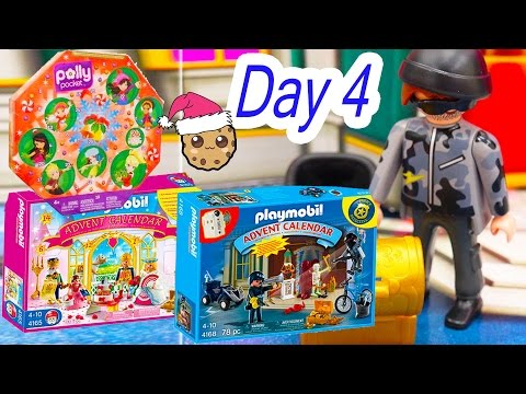 Polly Pocket, Playmobil Holiday Christmas Advent Calendar Day 4 Toy Surprise Opening Video - UCelMeixAOTs2OQAAi9wU8-g