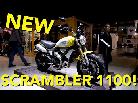2018 Ducati Scrambler 1100 First Look