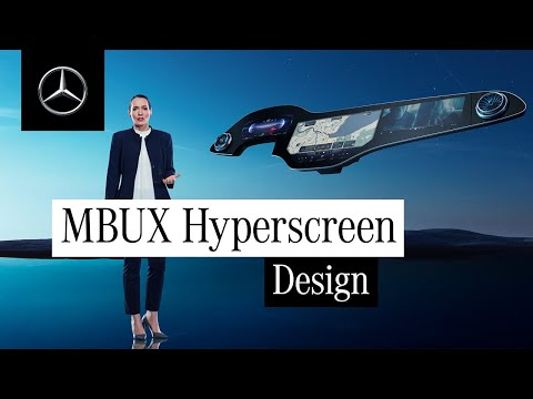 The MBUX Hyperscreen is Digitalisation at Its Best