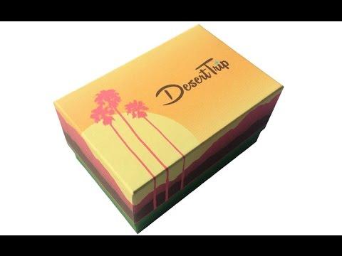 Desert Trip Ticket Box | Cool Custom Printing of the Week