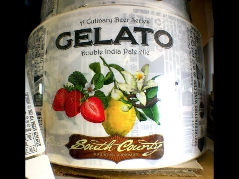 Bring on the Gelato! At South County Brewing. (Happy Hour Guys #350)