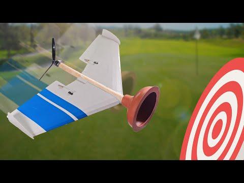 Plunger + Plane = Will it Stick? - UC9zTuyWffK9ckEz1216noAw