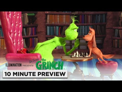 Illumination's The Grinch | 10 Minute Preview | Film Clip | Own it now on 4K, Blu-ray, DVD & Digital - UCIHg3K4EaY-ziWc5CyzWAzQ