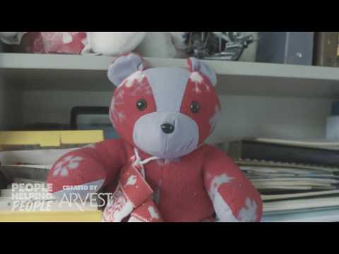 Memory Bears by Pat and Jane – People Helping People Created by Arvest Bank