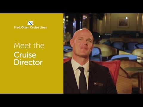 Meet Cruise Director Elliot Taylor - Fred. Olsen
