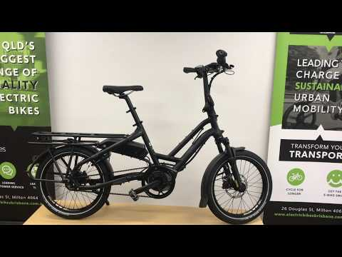 Tern HSD 8i compact cargo ebike | First View
