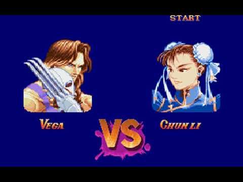 Super Street Fighter II (Vega) (Rozner Labs, Capcom) (MS-DOS) [1996] [PC Longplay]