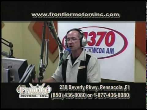 Frontier Motors TV Show April 23rd Pensacola