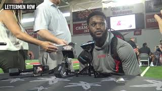 Baron Browning: Ohio State linebacker on changes to Buckeyes defense