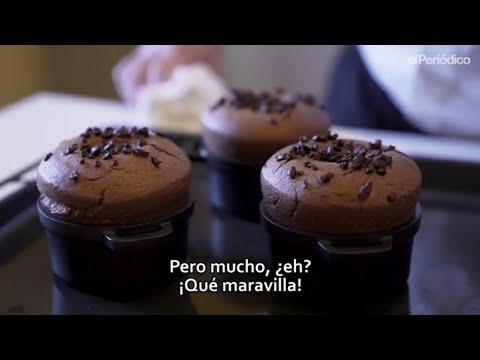 Cata Mayor: Jordi Roca nos muestra la sensualidad de un suflé de chocolate