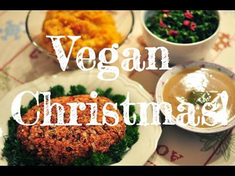Complete Vegan Christmas Dinner! 🎄 (oilfree & glutenfree)
