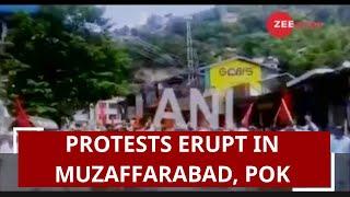 Protest erupts in Muzaffarabad, PoK against Pakistan