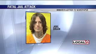 In letter to Columbus Dispatch, Ohio inmate confesses to murdering fellow inmate