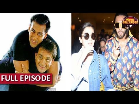Salman Khan End Differences With Sanjay Dutt? | Ranveer's In-Flight Masti With Alia Bhatt