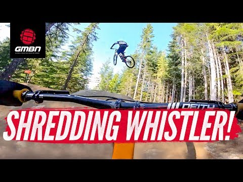 Riding Whistler Bike Park With Brendan Fairclough, Ben Deakin, & Skills With Phil | Crankworx 2019