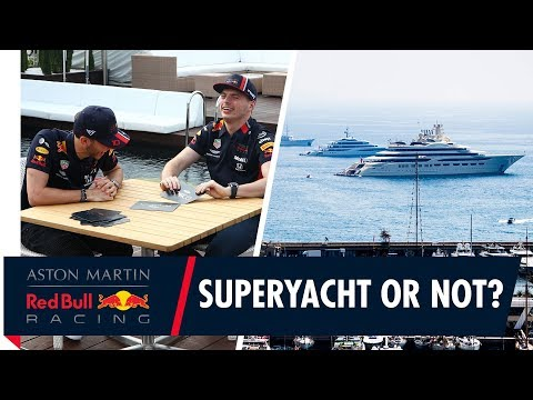 """Superyacht Or Not"""" A Monaco Grand Prix Quiz with Max and Pierre"""