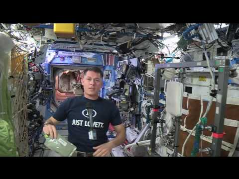 Space Station Commander Discusses Life in Space wi…