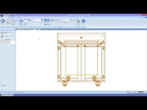 Mademaq : Cabinet Vision Version 9 - Propiedades de Trabajo, diseño y partes