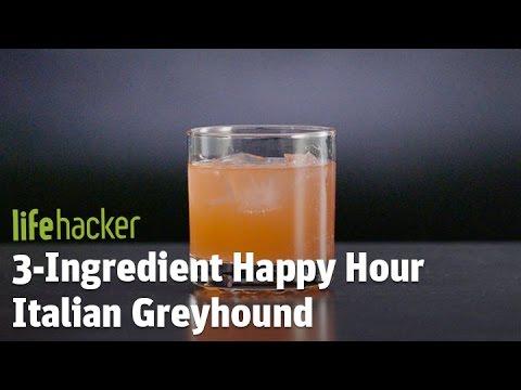3-Ingredient Happy Hour Italian Greyhound