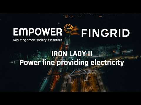 Iron Lady II power line