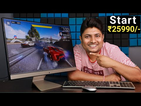 My New All in One PC | ASUS AIO V241 Unboxing & Quick Review | Best All in One PC 2021