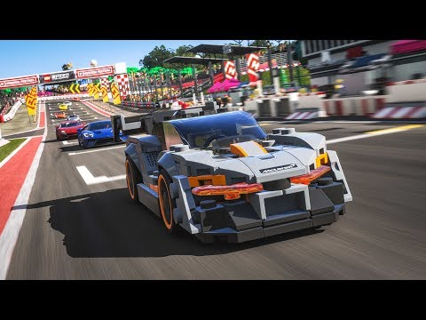LEGO® Speed Champions McLaren Senna playable in Forza Horizon 4