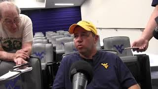 BlueGoldNews.com: WVU Football Sean Reagan 8/6/19