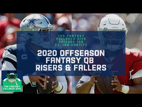 2020 Offseason Fantasy Risers & Fallers, Pt. 1: QBs ft. Ian Hartitz | Fantasy Football Podcast