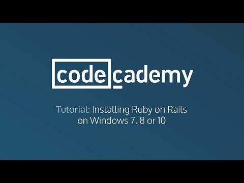 Install Ruby on Rails on Windows 7, 8 or 10 in 3 Minutes