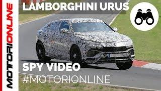 Lamborghini URUS   Spy video (August 2017)