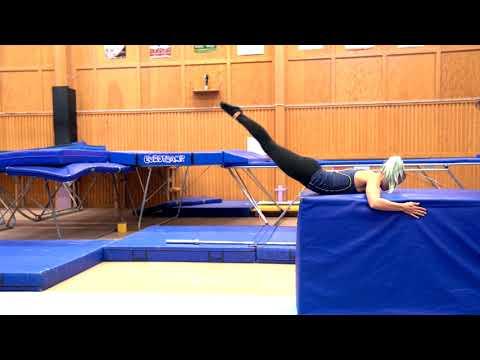 Gymnastiskt Basträningsprogram 10 Benlyft