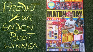 Match Of The Day Magazine Issue 568 Review  - Golden Boot Predictions Please