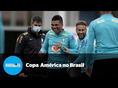 Realização da Copa América no Brasil causa polêmica e é alvo de críticas