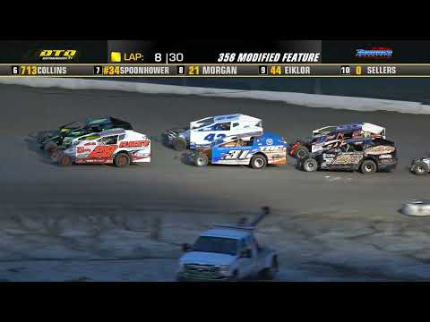 Thunder Mountain Speedway   DIRTcar 358-Modified Highlights   7/24/21 - dirt track racing video image