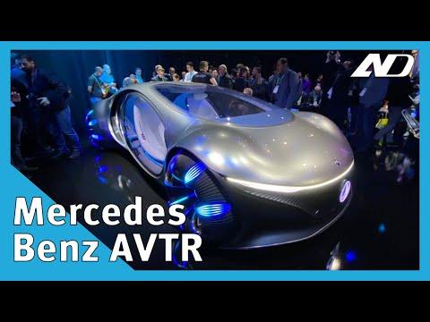 El coche de película de Mercedes-Benz: Vision AVTR - #CES2020