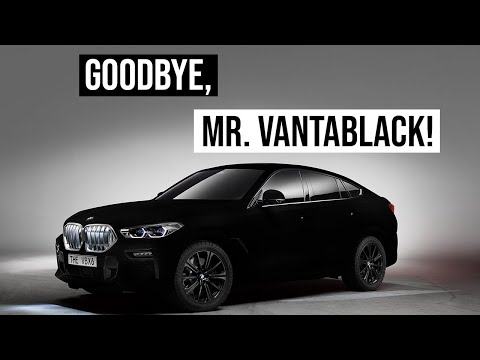 BMW X6 Vantablack | Time To Say Goodbye