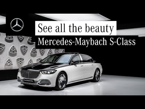 The Exterior Design of the New Mercedes-Maybach S-Class