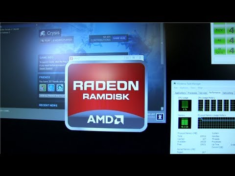 AMD Radeon RAM Disk Featuring 64GB G.Skill RipjawsZ Linus Tech Tips - UCXuqSBlHAE6Xw-yeJA0Tunw