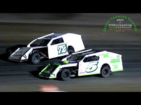 Desert Thunder Raceway IMCA Modified Main Event 7/24/21 - dirt track racing video image