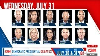 CNN PULLS PRESIDENTIAL CANDIDATES OUT OF A HAT (LIVE!) TO DECIDE THE DEBATE LINEUP!