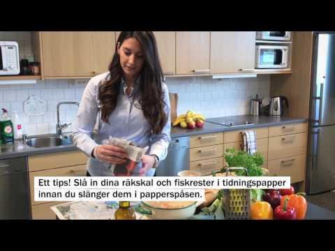 Papperspåse för matavfall - tips och trix.