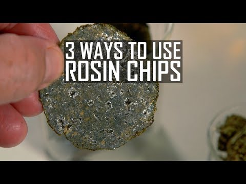 What Are Cannabis Rosin Chips? (And 3 Ways to Use Them): Cannabasics #98
