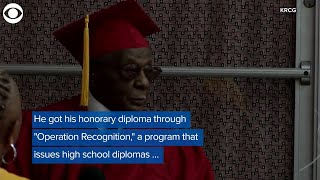 WEB EXTRA: Tuskegee Airman Receives Diploma